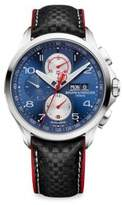 Baume & Mercier Clifton Club Shelby Cobra 10343 Stainless Steel & Leather Strap Watch