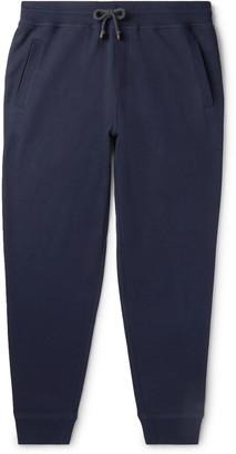 Brunello Cucinelli Tapered Cotton-Blend Jersey Sweatpants