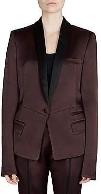 2e7dd715f4a80 Haider Ackermann Women s Pleat Back Contrast Blazer