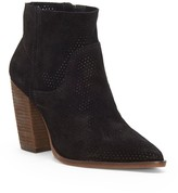 Vince Camuto Cava Perforated Suede Bootie