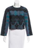 M Missoni Wool Lace-Accented Jacket w/ Tags