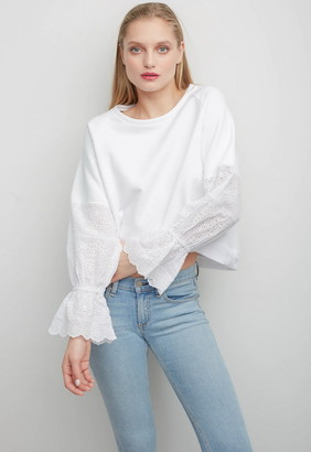 Singer22 PENELOPE EMBROIDERED TOP