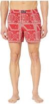 Polo Ralph Lauren Bandana Woven Boxer Printed (RL2000 Red/Bandana Print/Crescent Cream Pony Print) Men's Underwear