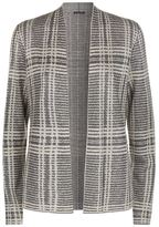 Eileen Fisher Open Front Printed Cardigan