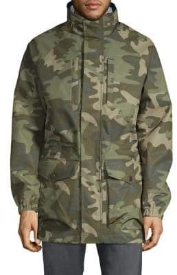 e5f28283822 Camo-Print Hooded Jacket