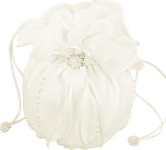 Flora Chiffon Bridal Dolly Bag/Bridesmaid Handbag