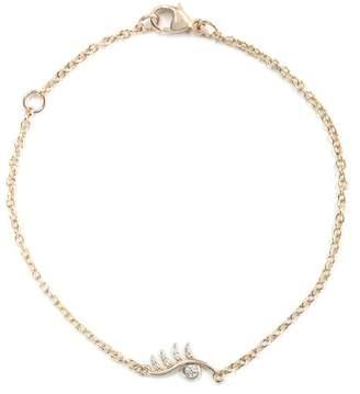 Bond Eye Bondeye 14K Rose Gold, White Diamond Wink Bracelet