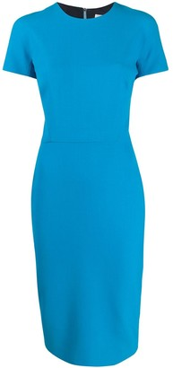 Victoria Beckham Pencil Midi Dress