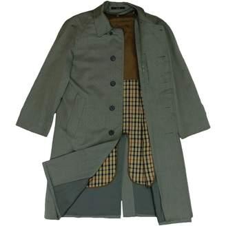 Daks London Grey Wool Coats