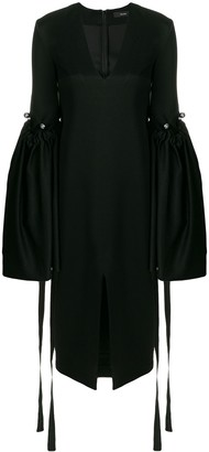 Ellery Oversized Bell Sleeve Dress