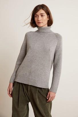 Velvet by Graham & Spencer Taryn Lux Cashmere Blend Turtleneck Sweater
