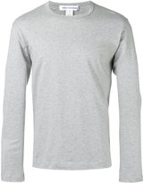Comme des Garcons crew-neck long sleeve top - men - Cotton - S