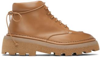Marsèll Tan Dentolone Boots
