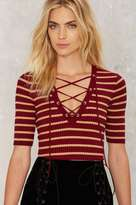 Nasty Gal King's Cross Striped Top
