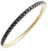Nordstrom Women's Bony Levy 'Stackable' Straight Diamond Band Ring Exclusive)