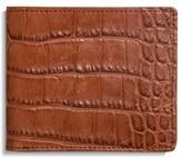 Shinola Alligator Leather Wallet