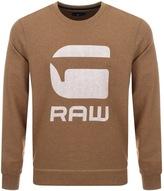 G Star Raw Core Art Sweatshirt Brown