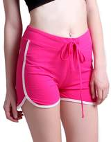 HDE Women's Fitness Exercise Drawstring Gym Performance Dolphin Running Shorts