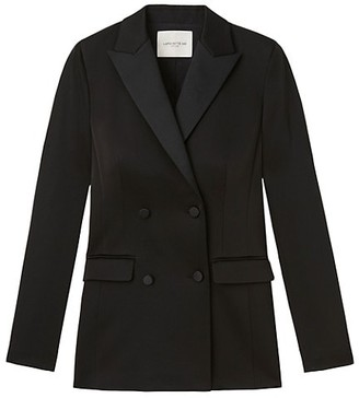 Lafayette 148 New York Holton Double-Breasted Blazer