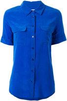 Equipment chest pockets shortsleeved shirt - women - Silk - S