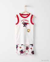 Hanna Andersson Justice League SUPERMANTM Short John Pajamas In Organic Cotton