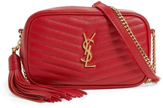 Saint Laurent Matelasse Lou Mini Bag