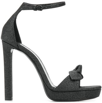 Saint Laurent open-toe bow sandals
