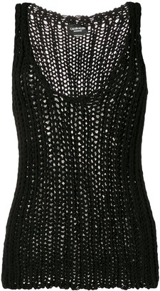 Calvin Klein Loose Knitted Vest