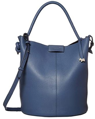 Radley London Ada Street - Medium Open Top Bucket (Denim) Handbags