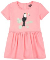 Juicy Couture Outlet - BABY KNIT TOUCAN GRAPHIC DRESS WITH BLOOMER
