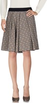 Alysi Knee length skirts - Item 35293517
