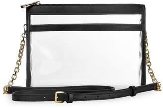 GiGi New York Game Day Collins Tuohy Smith x Gigi Leigh Anne Leather-Trimmed PVC Crossbody Bag