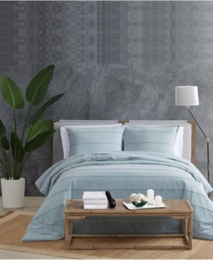 Sean John Tufted Stonewash King Duvet Set Bedding