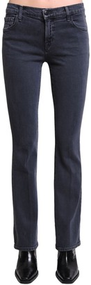 J Brand Salli Mid Flared Cotton Denim Jeans