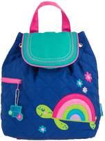 Stephen Joseph Backpacks - Rainbow Turtle Quilted Backpack