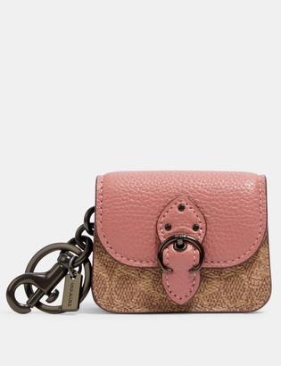 Coach Mini Beat Bag Bag Charm