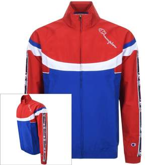 Champion Full Zip Logo Jacket Blue