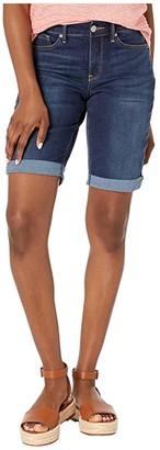 NYDJ Petite Petite Briella Shorts Roll Cuff (Junipero) Women's Shorts