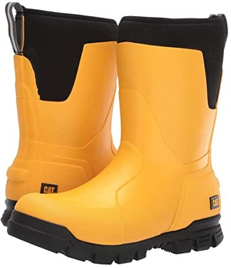Caterpillar Casual 11 Stormers (Cat Yellow/Black) Men's Rain Boots