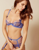 Agent Provocateur Lorna Bra Blue And Peach