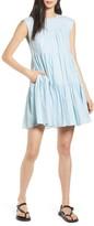 Rebecca Minkoff Lizzie Tiered Babydoll Dress