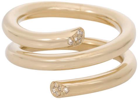Ariel Gordon Pave Spring Ring