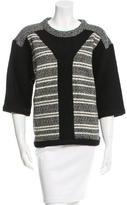 IRO Wool Patterned Sweater