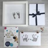 S.t.a.m.p.s. Stomp Daddy's Magic Inkless Handprint Footprint Kit