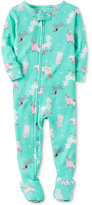 Carter's 1-Pc. Dog-Print Footed Pajamas, Baby Girls (0-24 months)