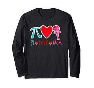 Pi Day Love Mom 8 March Women Month Long Sleeve T-Shirt
