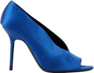 Burberry Blue Cloth Heels