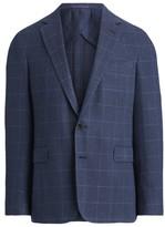 Ralph Lauren Hadley Windowpane Suit Jacket