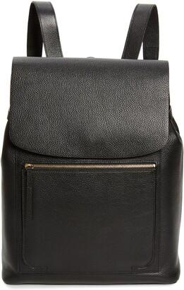 Nordstrom Ballard Calfskin Leather Backpack