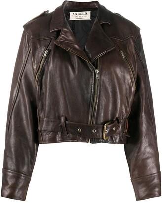 A.N.G.E.L.O. Vintage Cult 1980s Leather Biker Jacket